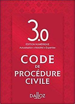 telecharger code de procedure civile edition  gratuit