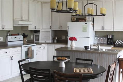 wallpaper backsplash kitchen kitchen backsplash beadboard wallpaper transform your home on a budget a spotted pony