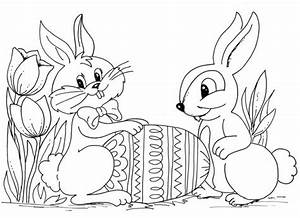 Gemütlich Ausmalbilder Frohe Ostern Malvorlage Bilder