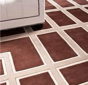 Teppich 400 X 400 : wundersch ner luxus teppich aus 100 neuseeland wolle mit m ander muster braun creme ~ Orissabook.com Haus und Dekorationen