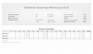 Einnahme überschuss Rechnung Formular : numbers vorlage einnahmen berschuss rechnung 2018 ohne ust ~ Themetempest.com Abrechnung