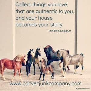 small things to collect breyer horse quotes quotesgram