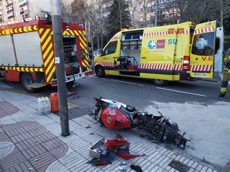 Muere En Accidente De Moto Un Policía Nacional Fuera De