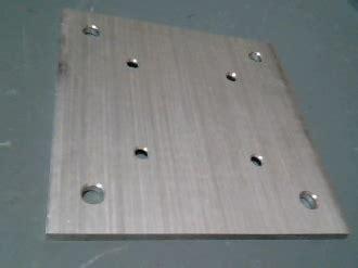 prefab fence post base plate