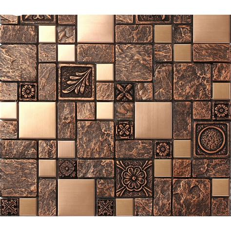 tile sheets for kitchen backsplash brushed stainless steel tile sheets kitchen backsplash brass glass mosaic resin patterns b963