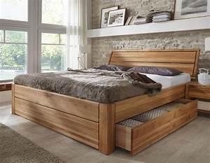 Stilbetten Bett Holzbetten Massivholzbett Tarija Mit