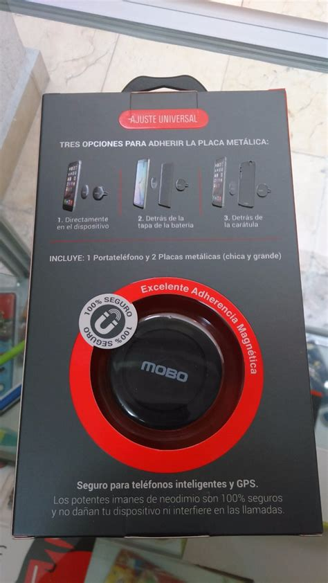 porta telefono auto porta telefono auto universal mobo original magnetico