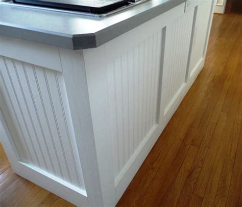 wainscoting kitchen island 10 creative diy beadboard projects decorating your small 3304