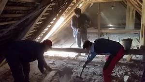 Oprava stropu v dome