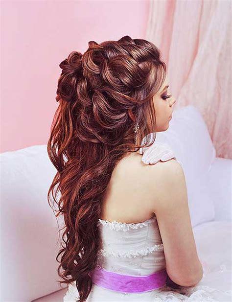 15 Half Up Half Down Bridal Hair Hairstyles And Haircuts