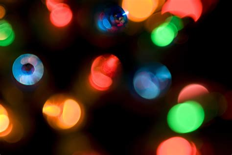 photo of defocused christmas lights free christmas images