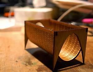 Laser cut living hinge business card holder i need this for Laser cut business card holder