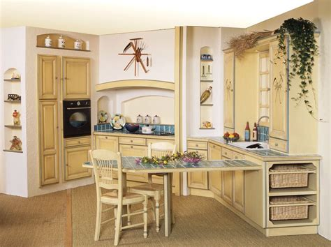 cuisine provence idee decoration cuisine provencale