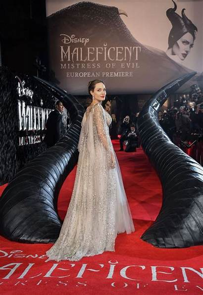 Jolie Angelina Maleficent Premiere London Evil Mistress