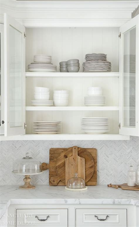 22+ Engaging Kitchen Organization Glass Cabinet
