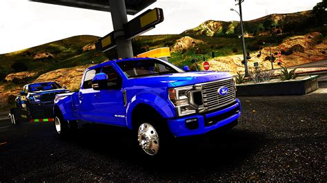 Ford Dually 2020 2020 ford f 350 king ranch dually add on gta5 mods