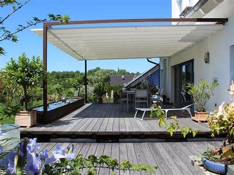 Sonnenschutz Terrassen by Terrassenbeschattung Die Sonnenschutz Und Regenschutz