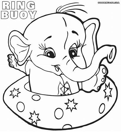 Lifebuoy Coloring Pages Stuff Elephant Colorings