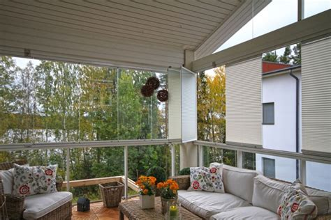 Ceiling Blinds For Sunrooms by Pleated Window And Ceiling Blinds For A Sunroom In Canada