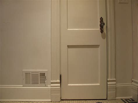 door baseboard how to paint stained doors before u0026 after