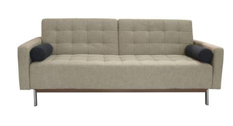 contemporary sleeper sofa bed beige or grey contemporary tufted fabric sofa bed santa
