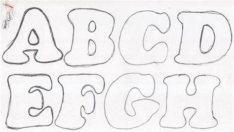 abecedario moldes de letras grandes para imprimir fieltro plantillas de letras moldes de