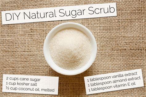diy natural sugar scrub recipe swanson health products