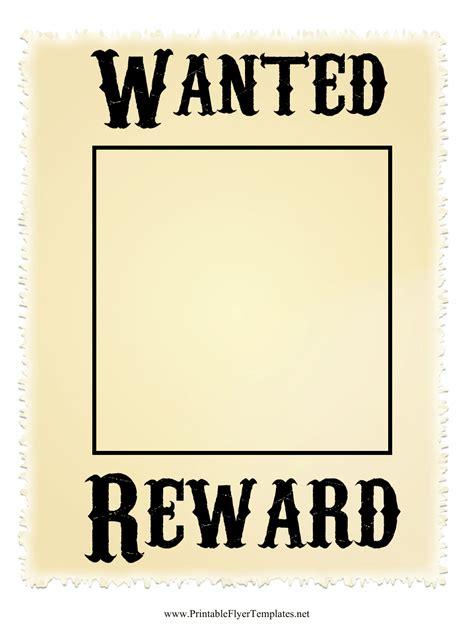 Beige Wanted Poster Template Download Printable PDF ...