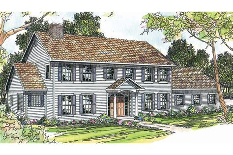 colonial house plans kearney 30 062 associated designs