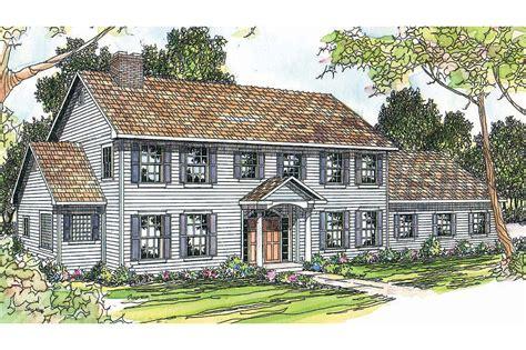 colonial house plans kearney    designs