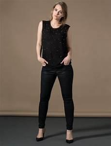 Style Vestimentaire Femme : pantalon noir femme ronde copie ~ Dallasstarsshop.com Idées de Décoration