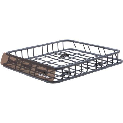 walmart roof rack sportrack roof mounted cargo basket walmart
