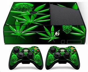Xbox 360 E Skin Weed 420 (Horizonal) | eBay