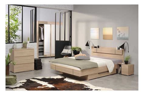 chambres b饕駸 chambre 224 coucher adulte moderne trendymobilier com