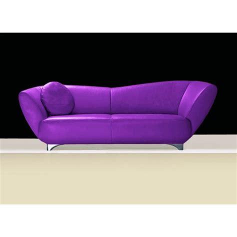 canape violet canapé cuir ou tissu mino 2 2 5 ou 3 places violet