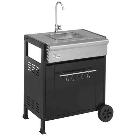 d馗or de cuisine module évier de cuisine pour cuisine d 39 extérieu achat vente cuisine extérieure module évier de cuisine pou cdiscount