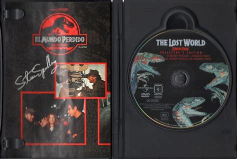 el mundo perdido de jurassic park pelicula original en dvd