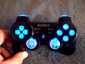ps3 controller designs black ps3 controller w blue led 39 s