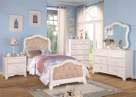 acme ira white youth bedroom set