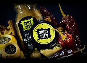 Color coded spice collections spice city for Kitchen cabinet trends 2018 combined with clear packaging stickers
