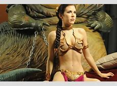 Princess Leia's gold bikini up for sale for £77,000