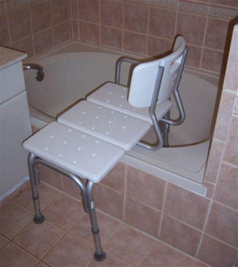 Medmobile® Bathtub Transfer Bench  Bath Chair With Back