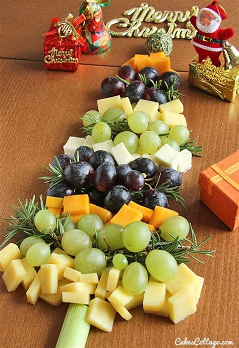 christmas fruit  cheese tray pictures