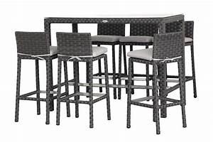 Table Haute Et Tabouret : meubles le corbusier 11 mod232le tabouret de bar et table haute digpres ~ Teatrodelosmanantiales.com Idées de Décoration