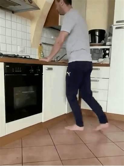 Treadmill Kitchen Floor Soap Water Dishsoap Dish