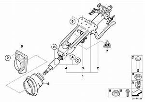Bmw 330xi Adjust-lever  Steering  Column