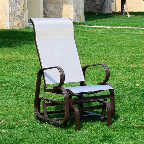 Patio Lawn Furniture by Wicker Swing Patio Chair Aosom Ca