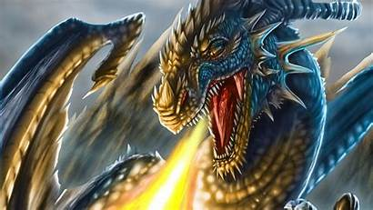 Wings Dragon Fire Face Fantasy Head Scales