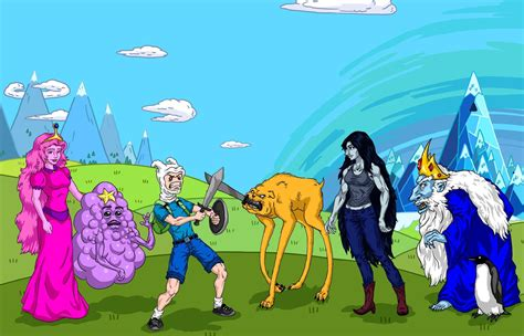 Anime Adventure Time Wallpaper - adventure time desktop backgrounds wallpaper cave