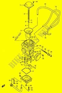 Suzuki Vinson 500 Carb Diagram